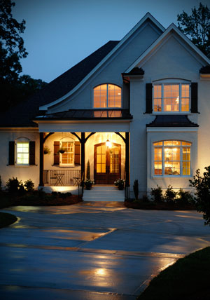 Privacy at night your window solution eco tint and shade - Exterior window tint for homes ...